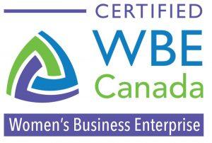 Certified Women's Business Enterprise Canada logo.